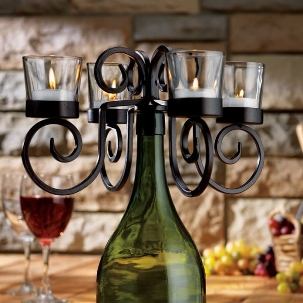 wine-bottle-candelabra