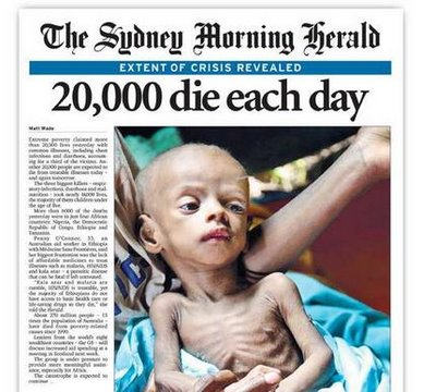 22,000 children die