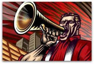 megaphone-man